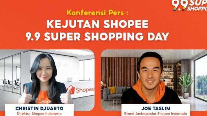 Joe Taslim Jadi Brand Ambassador Baru Shopee Untuk 9.9 Super Shopping Day