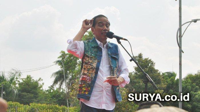 Reaksi Jokowi Dilaporkan ke Bawaslu Gara-Gara Sebut Capres Prabowo Miliki Lahan 340.000 Hektare