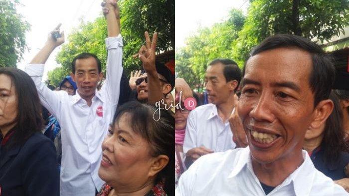 Kedatangan Jokowi KW di Akad Kahiyang Ayu Sukses Buat Warga Heboh, Begini Kemeriahannya