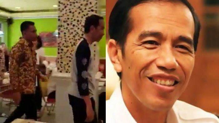 'Santai aja ya Presiden Kita!' untuk Jokowi yang Tertangkap Berbaju begini di Dalam Restoran
