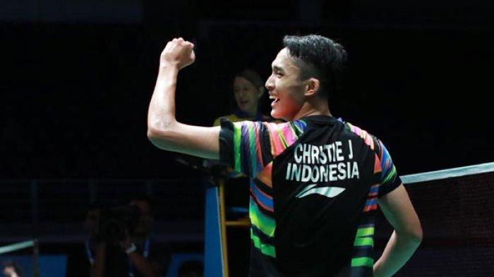 Jonatan Christie dan Antony Ginting Lolos Olimpiade Tokyo 2020, Ini Daftar Lengkap Wakil Indonesia