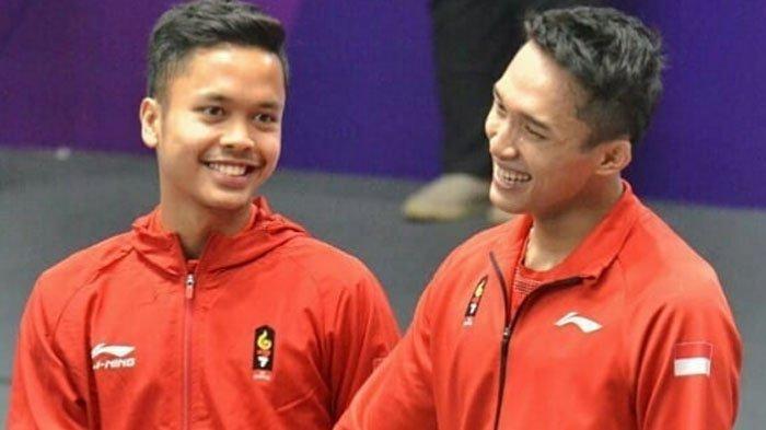 Hadapi Chen Long di Perempat Final, Jonatan Christie Mina Saran Anthony Ginting