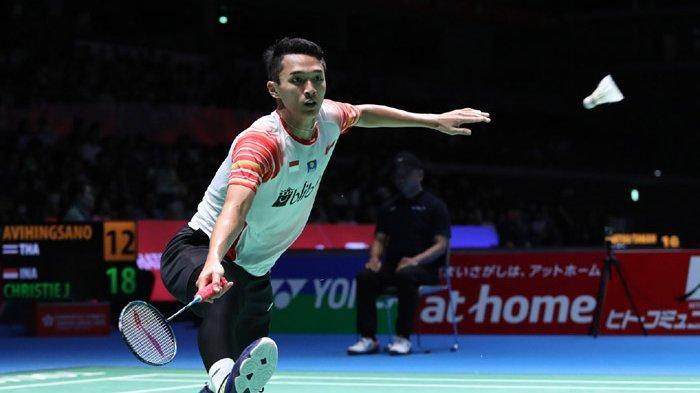 JAPAN OPEN 2019 - Jonatan Christie Satu-satunya Wakil Tunggal Putra Indonesia di Semifinal