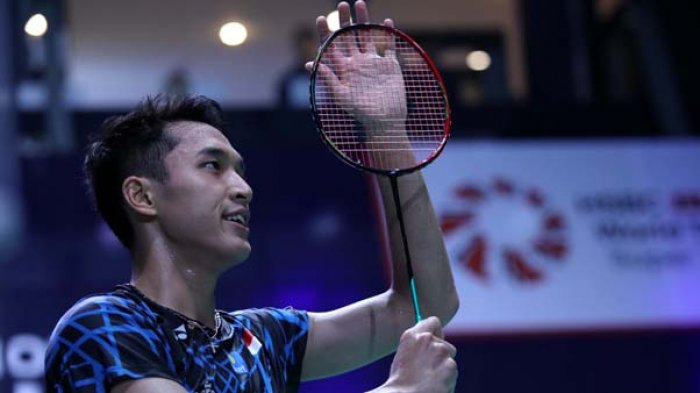 Hasil French Open 2018 - Jonatan Christie Tantang Chen Long di Perempat Final