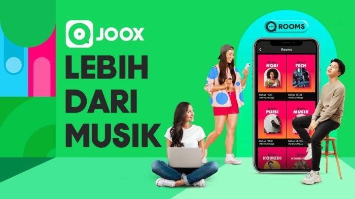 Fitur Baru JOOX, Bisa Ngrumpi di Rooms Sambil Main Game, Karaoke, Ngobrol, Sekaligus Dengar Musik