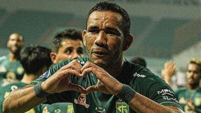Jose Wilkson berhasil cetak brace di laga perdananya di Liga 1 2021, Persebaya Surabaya menang 3-1 atas Tira Persikabo, Sabtu (11/9/2021)