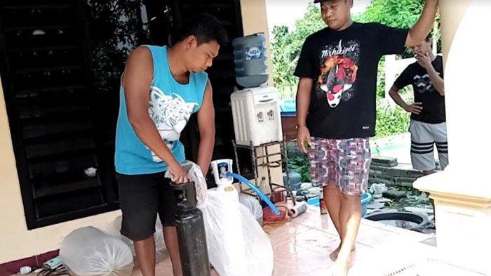 Ikan Koi Bongkar Penjualan Tabung Oksigen Palsu di Tulungagung; Diduga Tidak Berisi Oksigen Murni