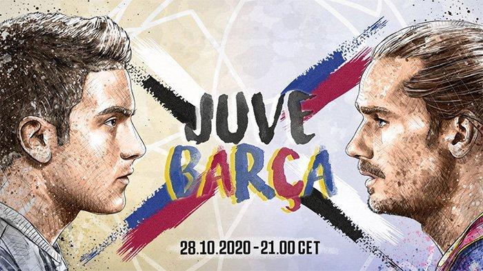 Prediksi Skor Juventus vs Barcelona, Kick Off 03:00 WIB Dini Hari, Bianconeri Tanpa Ronaldo