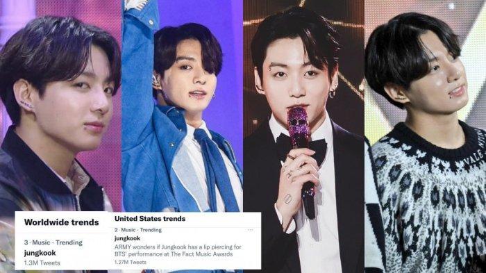 Jungkook BTS Dapat Pujian karena Live Vocal dan Visualnya di The Fact Music Awards 2021