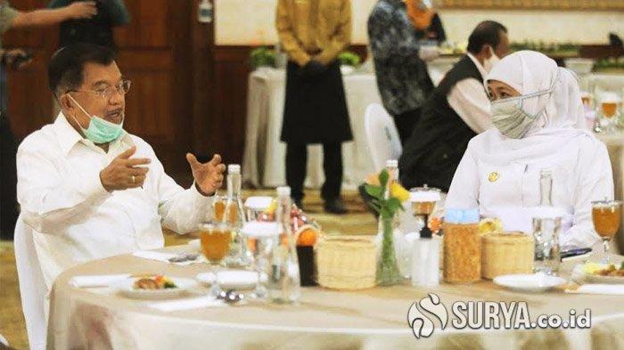 Jusuf Kalla Meningatkan, Jumlah Pertambahan Kasus Covid-19 di Jawa Timur Bisa Lampaui DKI Jakarta