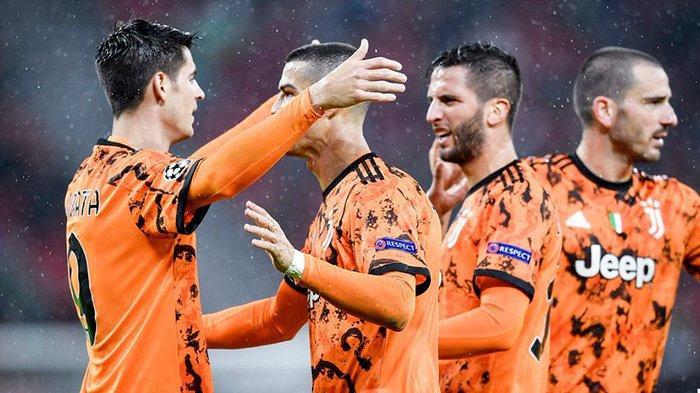 LIVE SCTV Susunan Pemain Porto vs Juventus Liga Champions: Ronaldo Starter