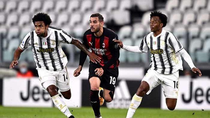 Juventus dipermalukan AC Milan dalam pertandingan lanjutan kompetisi Liga Italia Serie A, Senin (10/5/2021) dini hari tadi.