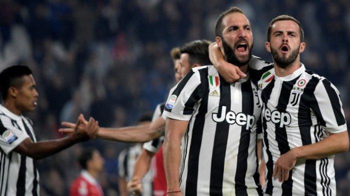 Hasil Liga Italia Pekan ke 17, Lazio Berakhir Seri dan Juventus Menang Telak