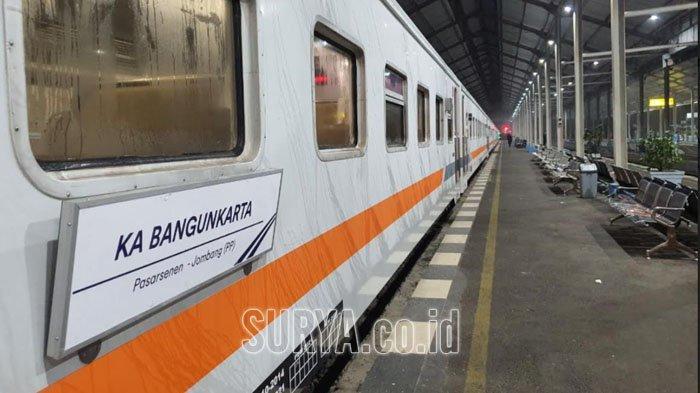 PT KAI Kembalikan Keberangkatan Kereta Api Bangunkarta dari Stasiun Jombang