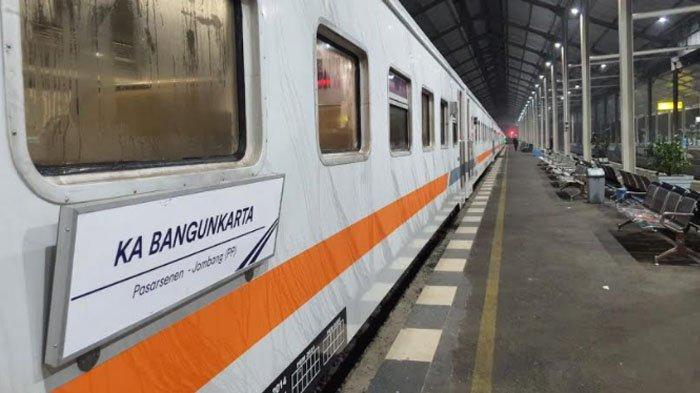 Rute Terbaru KA Bangunkarta yang kini Keberangkatan Awal dari Stasiun Jombang