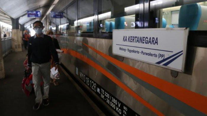 Pemberangkatan Perdana KA Kertanegara Relasi Malang-Madiun-Solo Balapan-Yogyakarta-Purwokerto