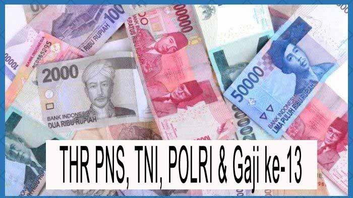 THR PNS dan Pensiunan Cair Rp 29,382 Triliun Diputuskan Jokowi, ini Perbedaannya dengan Gaji ke-13