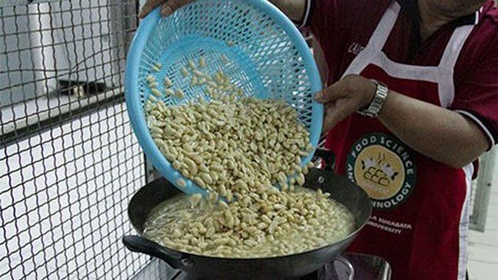 Universitas Katolik Widya Mandala Surabaya (UKWMS) Bagi Cara Olah Kacang Rendah Lemak