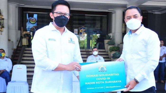 Bantu Pemkot Berjuang Tangani Covid-19, Kadin Surabaya Donasikan Bantuan dari Kalangan Pengusaha