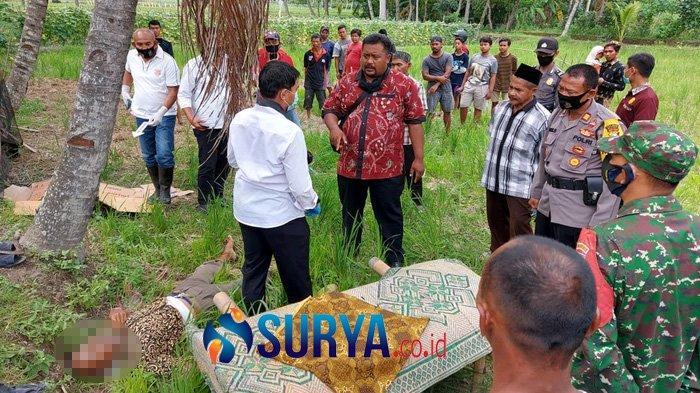 Tidak Terima Pohon Kelapa Ditebang, Adik Kalap Nekat Habisi Kakak Kandung depan Ibunya