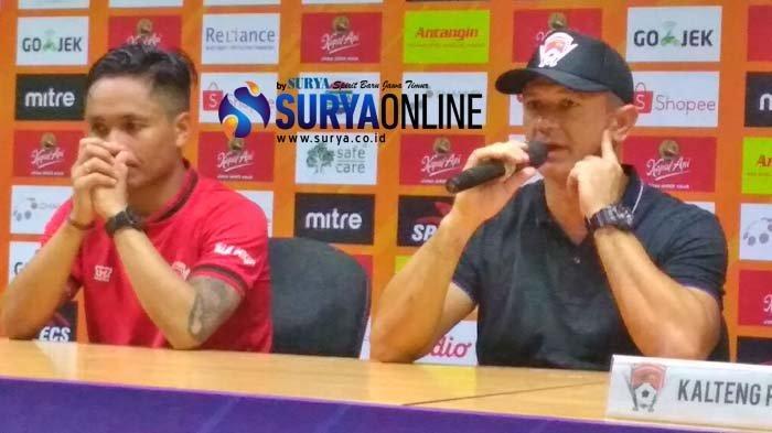 Gomes de Oliviera Beberkan Kunci Kalteng Putra Bisa Tahan Imbang Persebaya 1-1