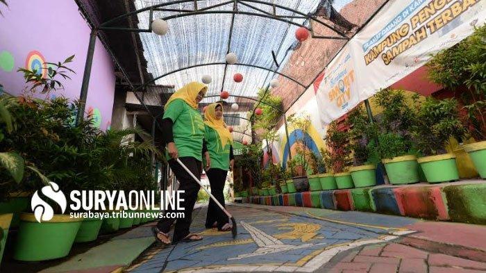 Menengok Kampung Jetis Wetan RT 4 RW 1 Margorejo Surabaya yang Asri
