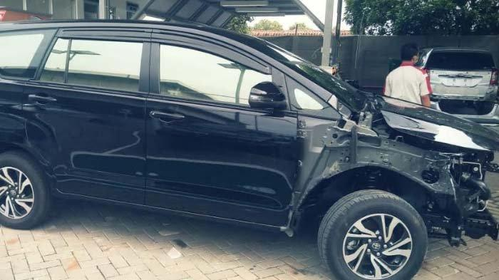 Belasan Mobil Milik Warga Kampung Miliarder Tuban Rusak akibat Kecelakaan, Pemlik Belum Mahir Nyopir