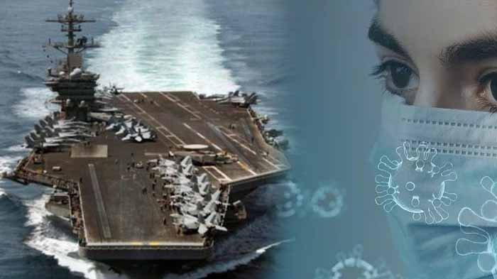 Kapten Kepala Induk AS Dipecat Gara-gara  Ribuan Angkatan Laut Terpapar COVID-19