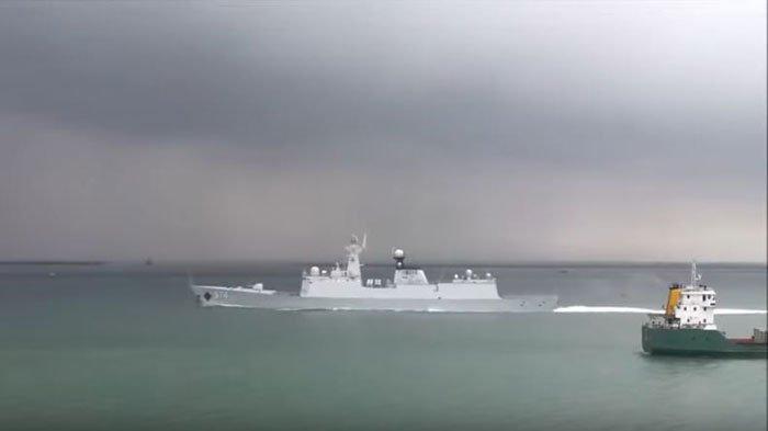 Kapal Perang China Pernah Masuk ke Laut Natuna Utara, Begini Kehebatan Frigate 054A Milik Tiongkok