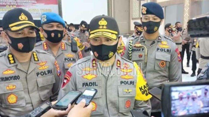 Kapolda Jatim Irjen Pol M. Fadil Imran di Gedung Mahameru Mapolda Jatim, Rabu (19/8/2020).