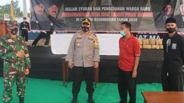 Pesan Kapolres AKBP M Budi Hendrawan jelang Pengesahan Warga Baru PSHT Bojonegoro