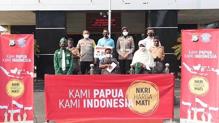 Kapolres AKBP Miko Indrayana Jalin Silaturahmi dengan Warga Papua di Lamongan