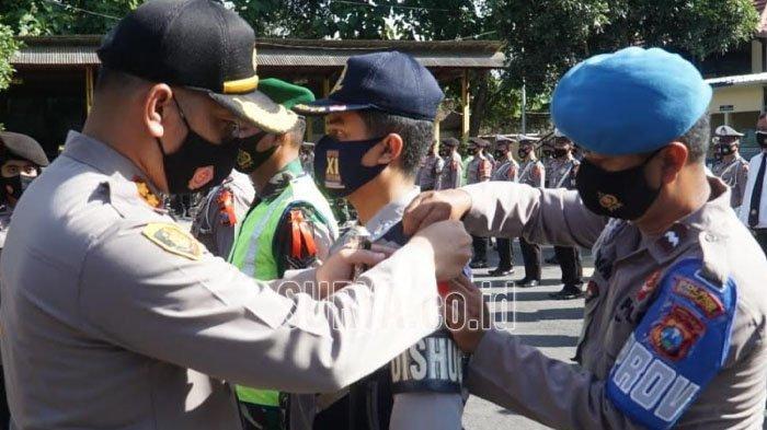 Pengamanan Natal dan Tahun Baru, Polres Blitar Kota Antisipasi Penyebaran Covid-19