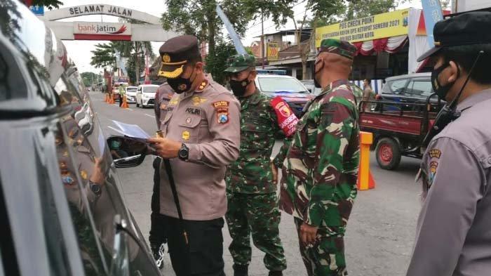 Operasi Ketupat Berakhir, Polres Blitar Kota Tingkatkan Pengecekan Kendaraan dari Luar Kota