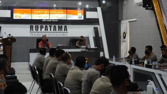 Polres Upayakan Bojonegoro Menuju Zona Hijau Lewat Kampung Tangguh Semeru (KTS) dan PPKM