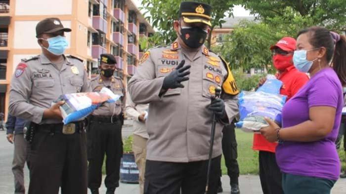 Warga Rusunawa Kota Kediri Terdampak Pandemi Covid-19 Dapat Bantuan Beras