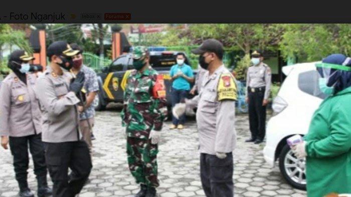 Kasus Positif Terus Bertambah, Polres Nganjuk kembali Optimalkan Kampung Tangguh Semeru