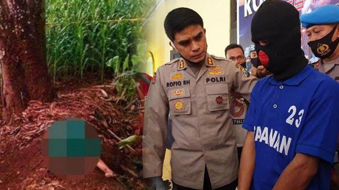 Alasan Konyol Pemerkosa dan Pembunuh Bocah 5 Tahun di Pasuruan Bikin Kapolres Geleng-geleng Kepala