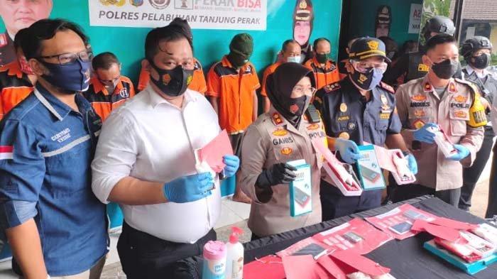 Polisi dan Bea Cukai Gagalkan Penyelundupan 1,2 Kg Sabu Dimasukkan Powerbank Asal Malaysia