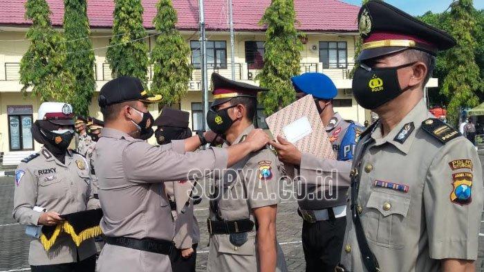 Lima Perwira Polres Situbondo Dimutasi, Ini Jabatan Baru Mereka