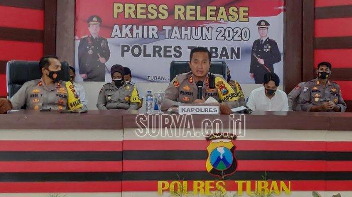 Penegakan Protokol Kesehatan di Kabupaten Tuban, Total Denda Pelanggar Capai Rp 65 Juta