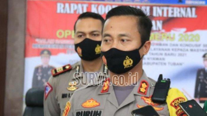 Kapolres Tuban AKBP Ruruh Wicaksono : Batasi Mobilitas Demi Cegah Penularan Covid-19