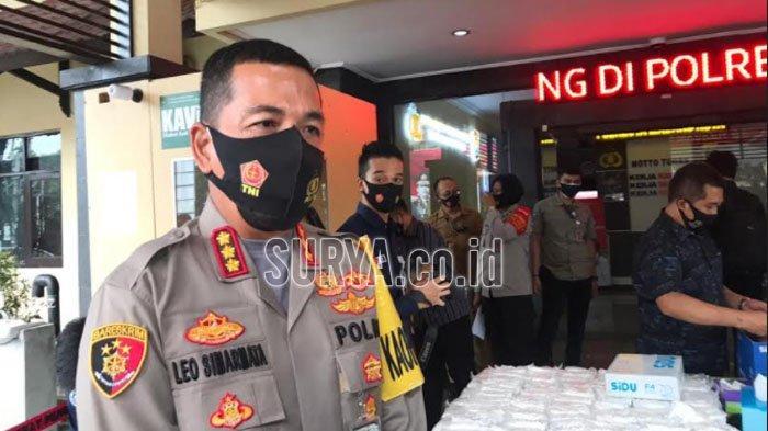 Seperti Ini Upaya Polresta Malang Kota Menekan Penyebaran Virus Covid-19