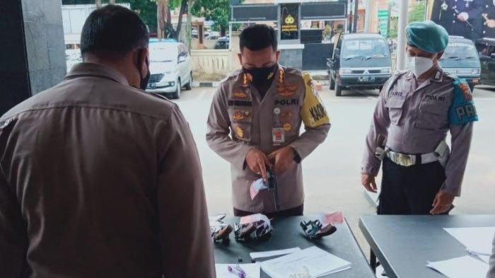Hindari Penyalahgunaan, Polresta Malang Kota Gelar Pemeriksaan Senjata Api