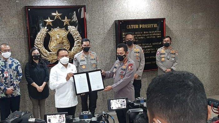 Jawaban Kapolri Jenderal Listyo Sigit Prabowo soal Liga 1 dan Liga 2 Belum Boleh Ada Penonton