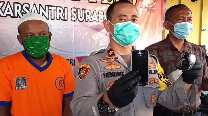Pria Surabaya Gondol Jam Tangan Senilai Puluhan Juta, Mengaku Tak Tahu di Motornya Tiba-tiba Ada Tas