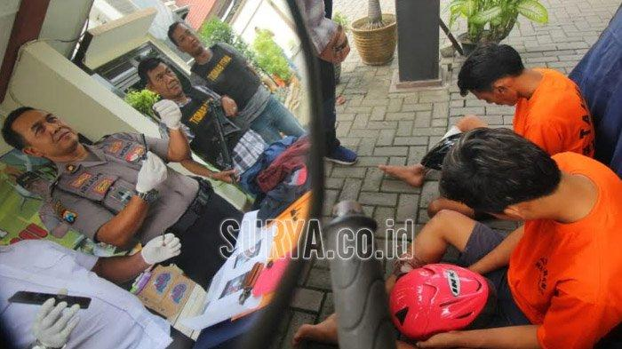 Polisi Surabaya Tangkap 2 Maling Motor, Ngaku Uang Penjualan Rp 3,5 Juta untuk Foya-foya