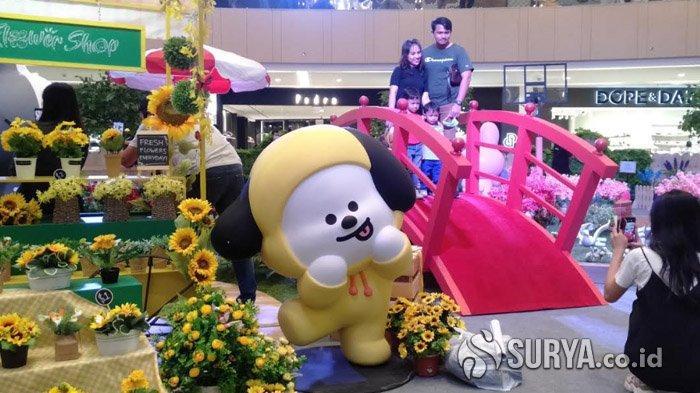 Bertemu dengan Karakter Lucu Line Friends di Atrium Tunjungan Plaza VI Surabaya