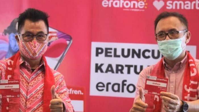 Gandeng Erajaya Group, Smartfren Luncurkan Kartu Perdana Smartfren Erafone