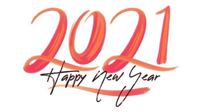 Kartu Ucapan Selamat Tahun baru 2021